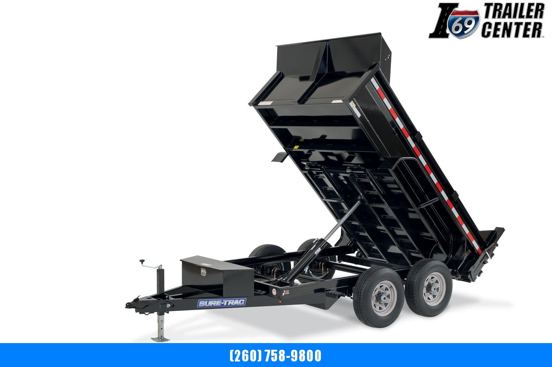2020 Sure-Trac 72 IN x 10 LProfile 7K Single Ram Dump