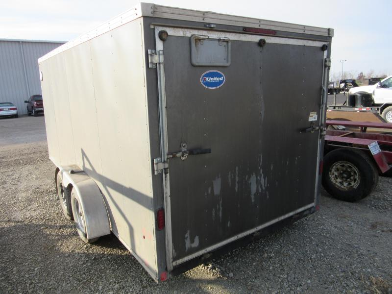 2016 United Trailers 7 x 16 XLMTV Enclosed Cargo Trailer