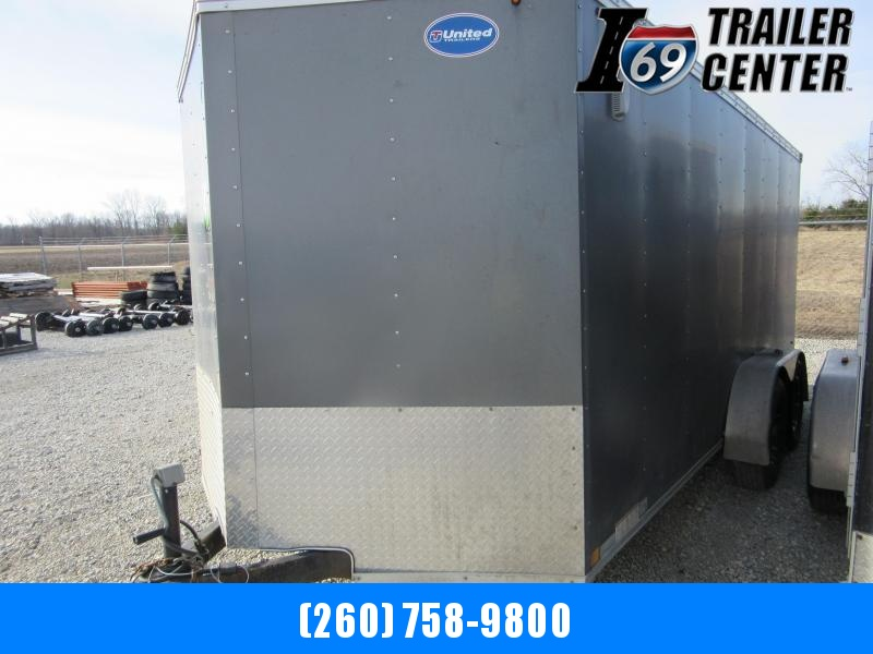 2016 United Trailers 7 x 16 XLMTV Enclosed Cargo Trailer