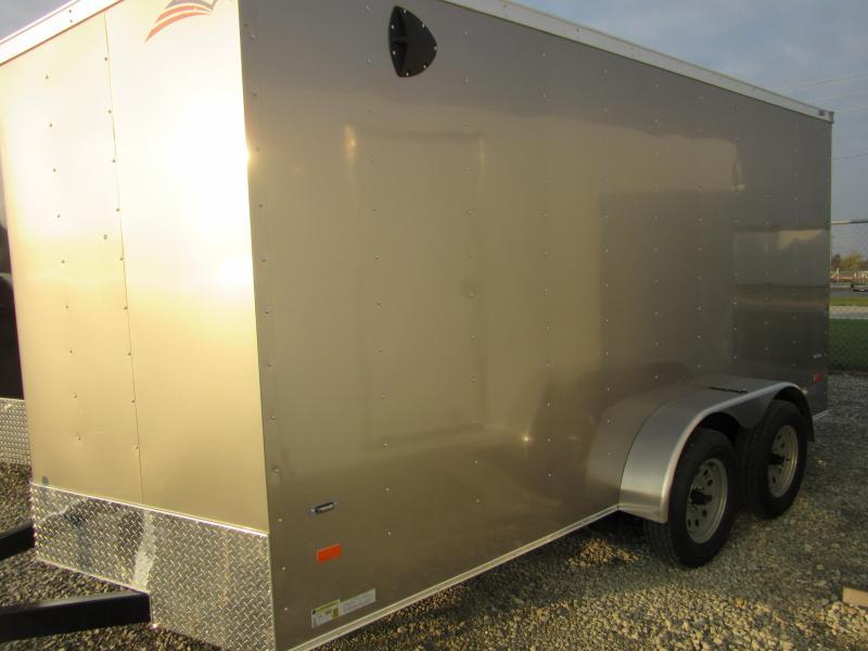 2020 American Hauler Industries Arrow 7 x 14 Enclosed Cargo Trailer