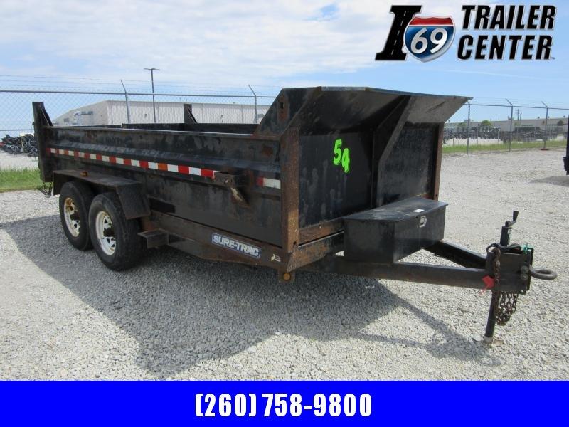 2014 Sure-Trac 82 x 14 dual ram dump 14K Dump Trailer