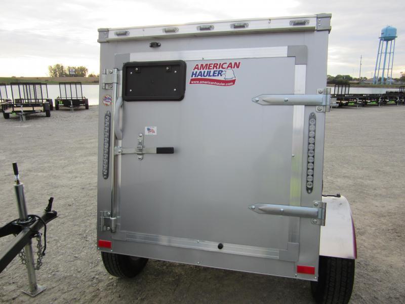 2020 American Hauler Industries NH46SA Night Hawk Enclosed Cargo Trailer