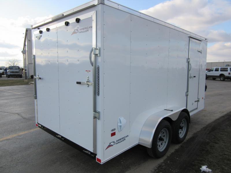 2020 American Hauler 7 x 14 Arrow 7K Enclosed Cargo Trailer