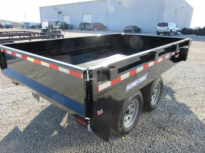 2020 Sure-Trac ST7210DOD-B-070 Dump Trailer