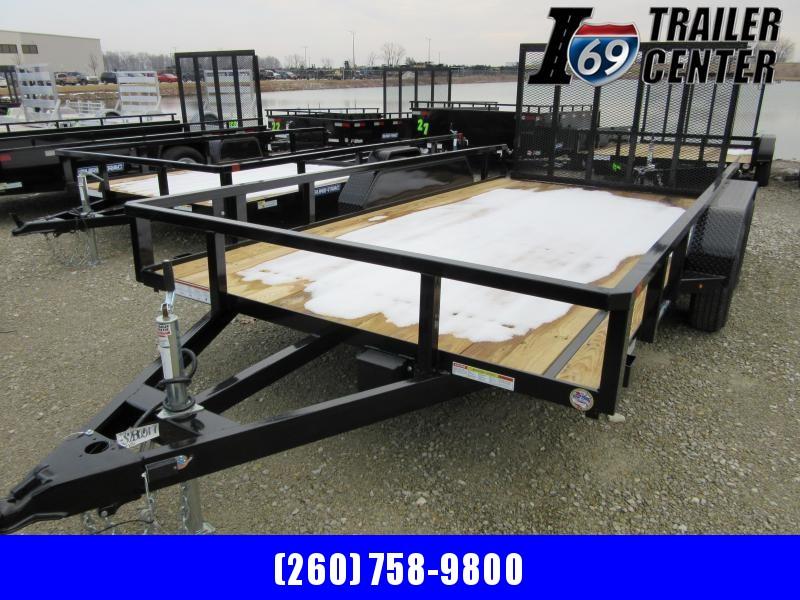 2020 Sure-Trac 7 X 14 Tube Top Utility  7k Tandem
