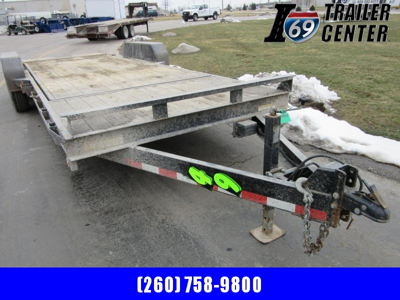 2016 Sure-Trac 18+4 tilt equipment 14K Equipment Trailer