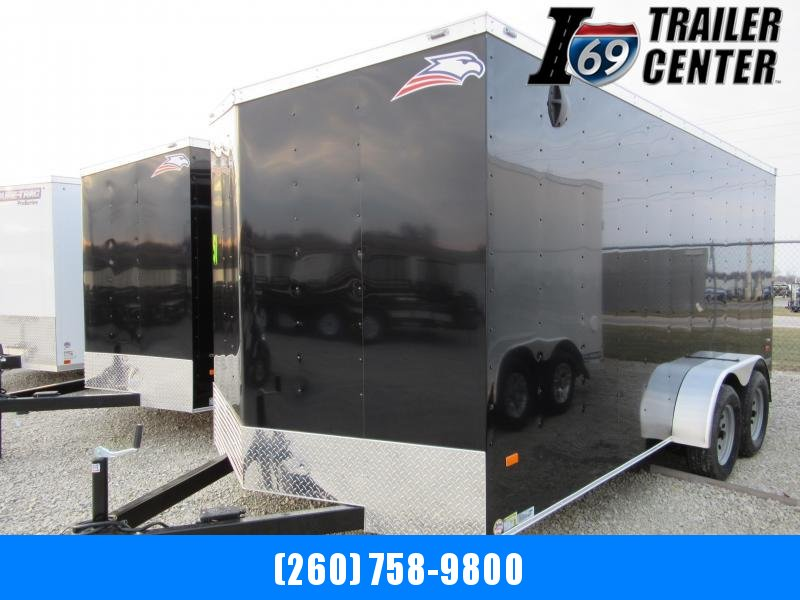 2019 American Hauler 7 x 14 Arrow Slant wedge rear ramp Enclosed Cargo Trailer