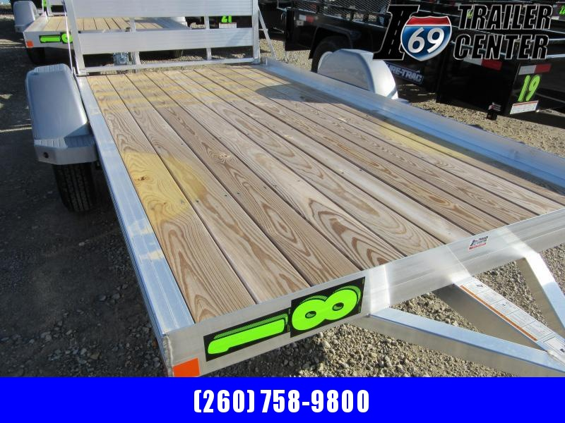2020 Bear Track 5 X 10 WOOD DECK Utility Trailer