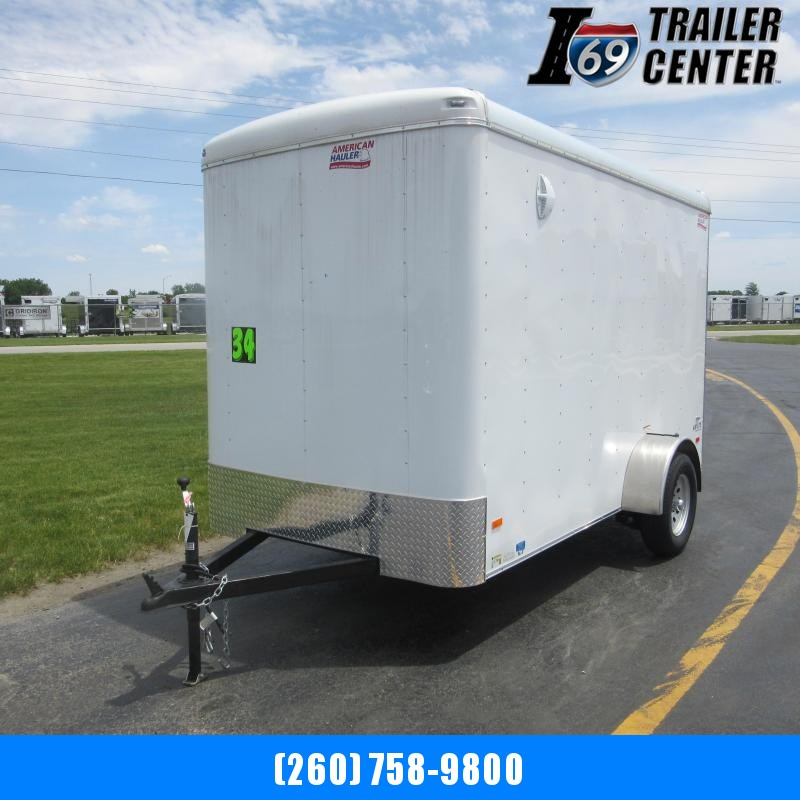 2019 American Hauler Air Lite 6 x 12 Round Top Enclosed Cargo Trailer