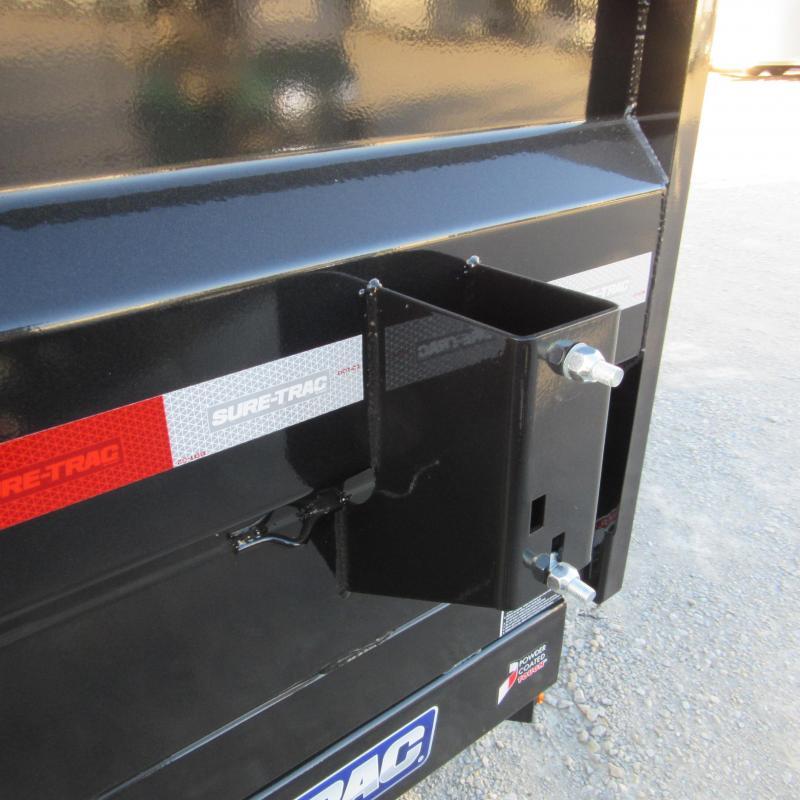 2020 Sure-Trac 82x14 14K HD Low Profile Dump (Telescopic) Dump Trailer