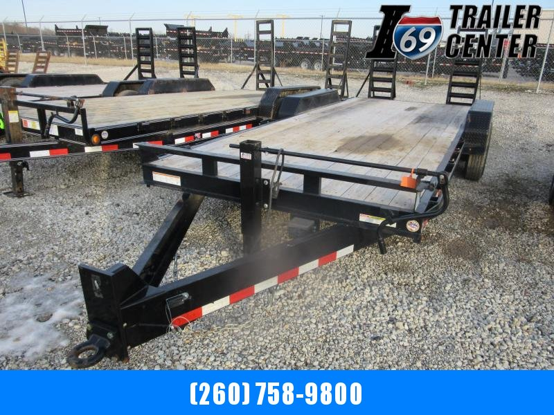2019 Sure-Trac st8120fwit-b-160 pintle Equipment Trailer