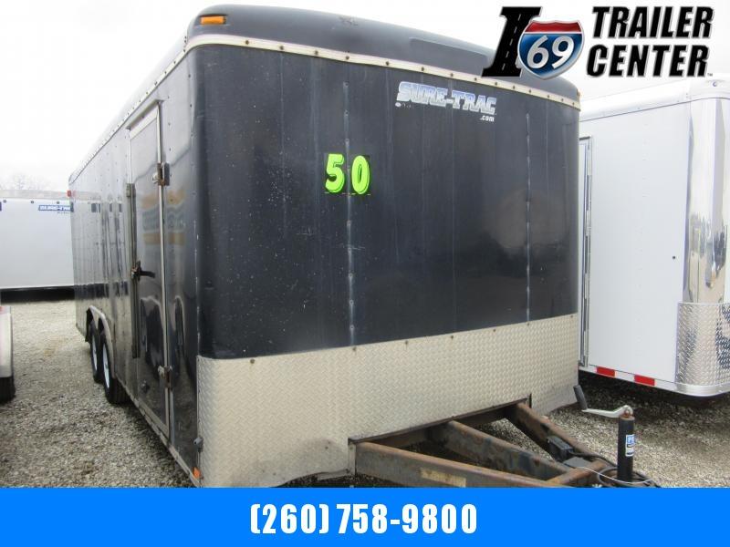 2010 Sure-Trac 8.5 x 20 enclosed Car / Racing Trailer