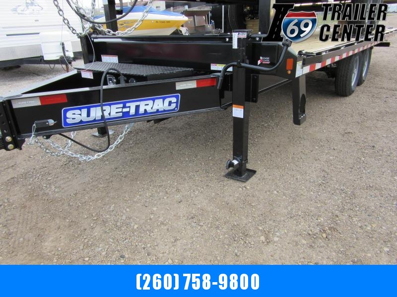 2020 Sure-Trac 8.5 x 22 15K HD Low Profile Power Tilt Deckover Flatbed Trailer