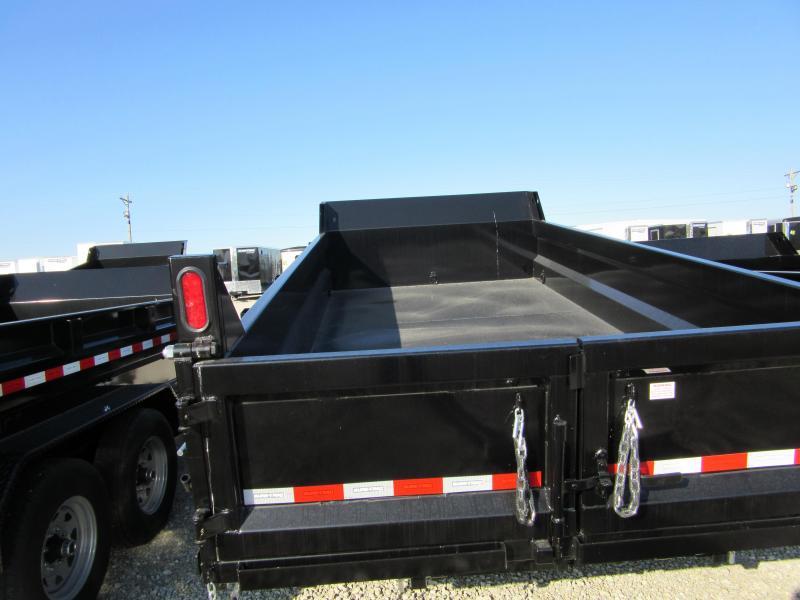2020 Sure-Trac 82 x 14 14K HD Low Profile Dump (Dual Ram) Dump Trailer