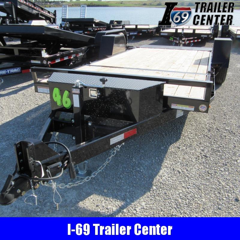 2020 Sure-Trac 78 x 12+4 Equipment Trailer