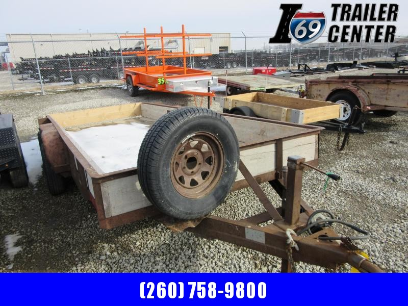 2003 Other R & W Brand 7 x 16 7K Angle Iron Utility Trailer