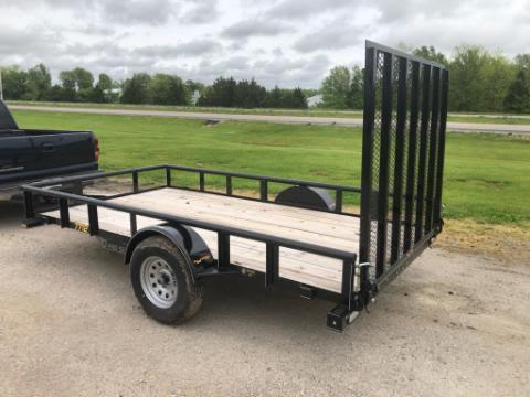 2020 Doolittle 77x12 Utility Trailer