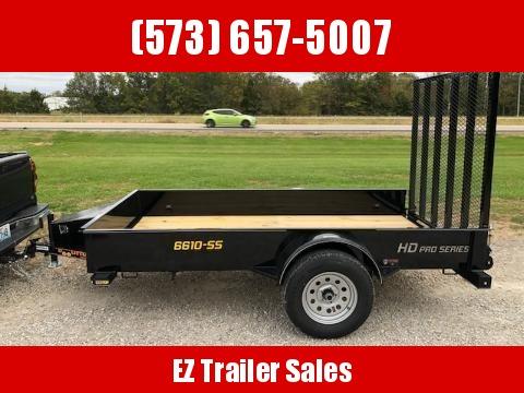 2020 Doolittle 66x10 SS Utility Trailer