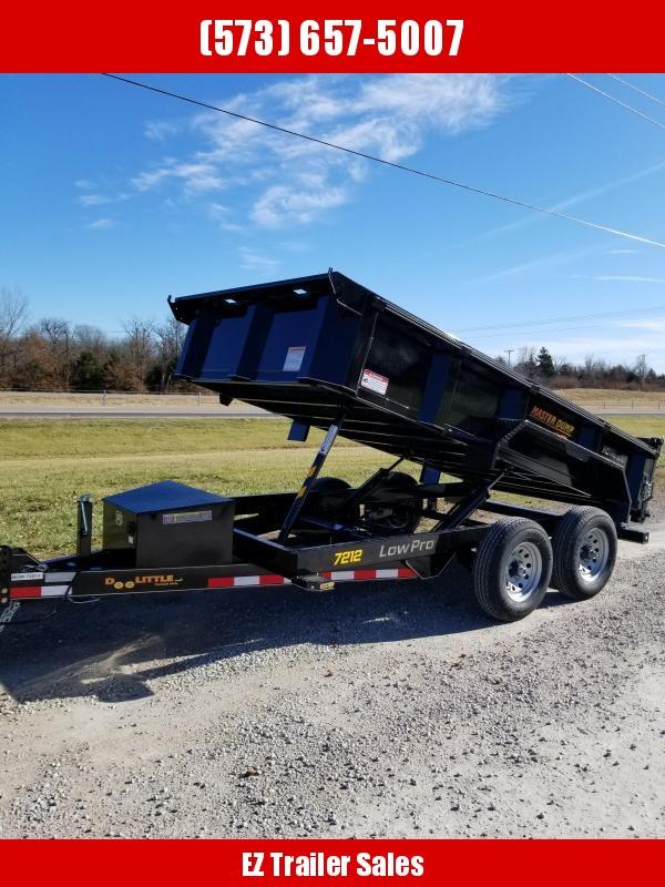2020 Doolittle 72x12 10k MD Dump Trailer