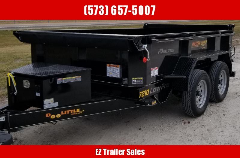 2020 DooLitttle Trailers 72x10 Dump Trailer