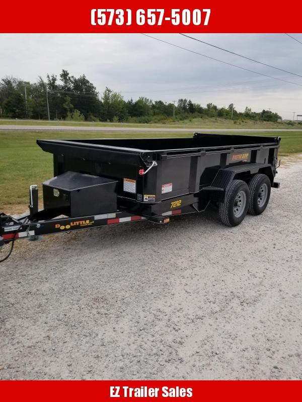 2020 Doolittle 72x12 10k Master Dump Trailer