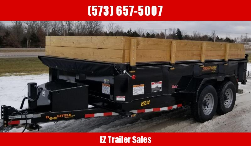 2020 DooLitttle Trailers 82x14 Dump Trailer