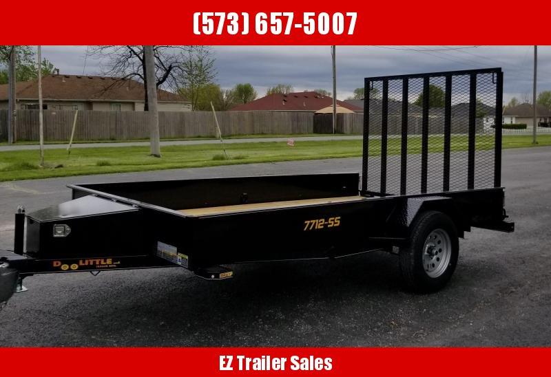 2020 DooLitttle Trailers 77x12 SS Utility Trailer