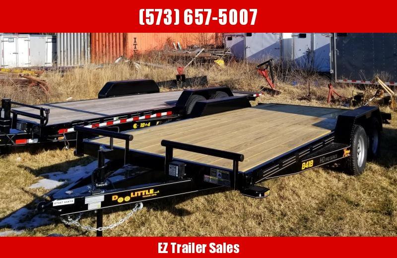 2020 Doolittle Trailer Mfg 84x18 Equipment Trailer
