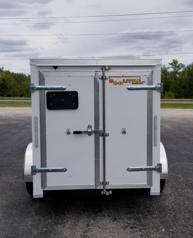 2020 DooLitttle Trailers 5x8 Enclosed Cargo Trailer