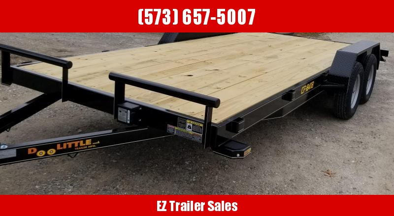 2020 Doolittle Trailer Mfg 84x18 CF Equipment Trailer