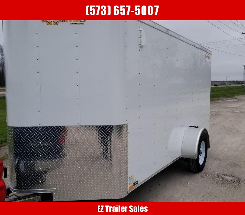 2020 DooLitttle Trailers 6x12 Enclosed Cargo Trailer