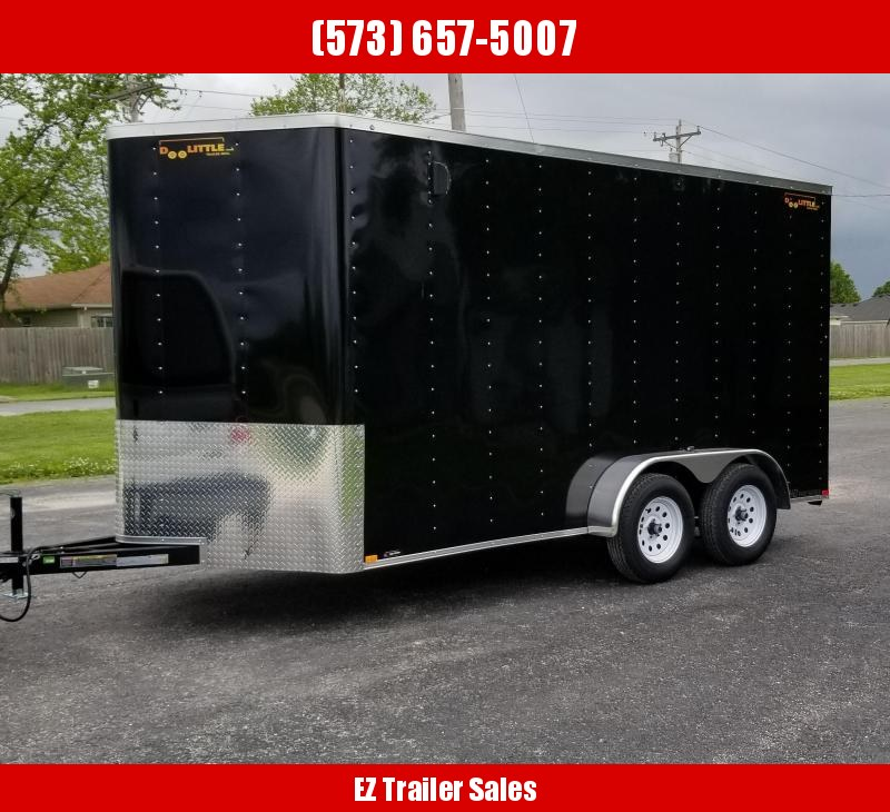 2020 DooLitttle Trailers 7x14 Enclosed Cargo Trailer