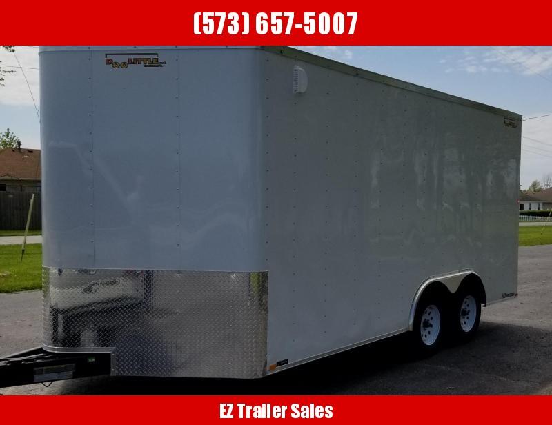 2020 DooLitttle Trailers 8.5x16 Enclosed Cargo Trailer