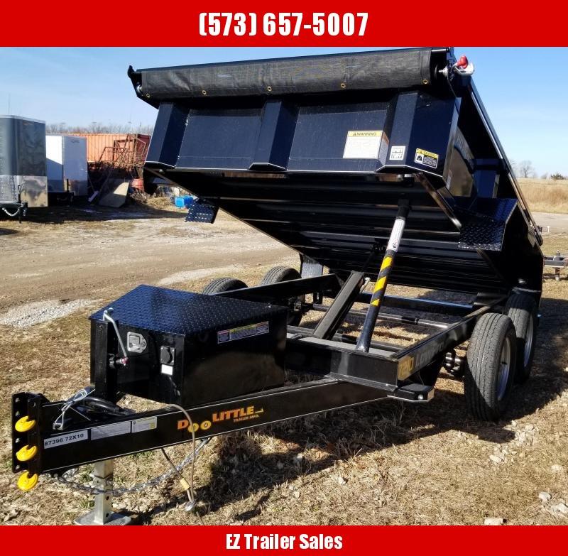 2020 Doolittle Trailer Mfg 72x10 Dump Trailer