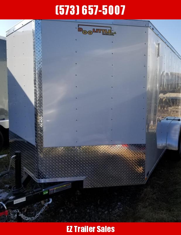 2020 Doolittle Trailer 7x14 Enclosed Cargo Trailer