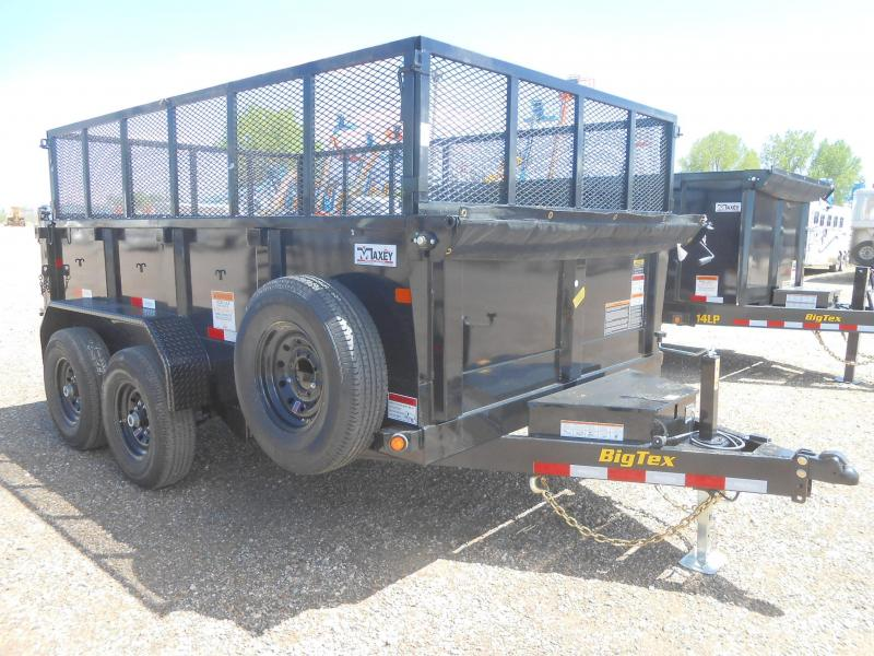 2020 Big Tex Trailers 14LX-12 w/ 2'H Expanded Metal Side Extensions Dump Trailer