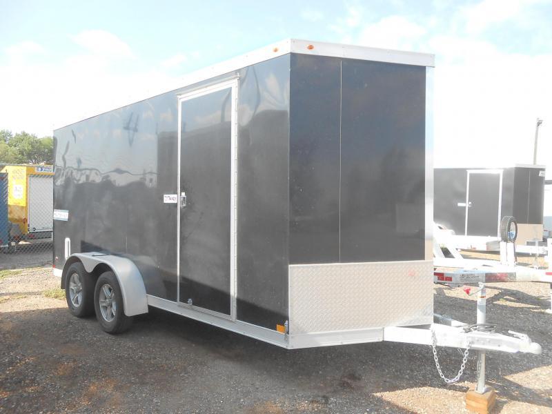 2018 Haulmark HAUV7X16WT2-RD All Aluminum Enclosed Cargo Trailer