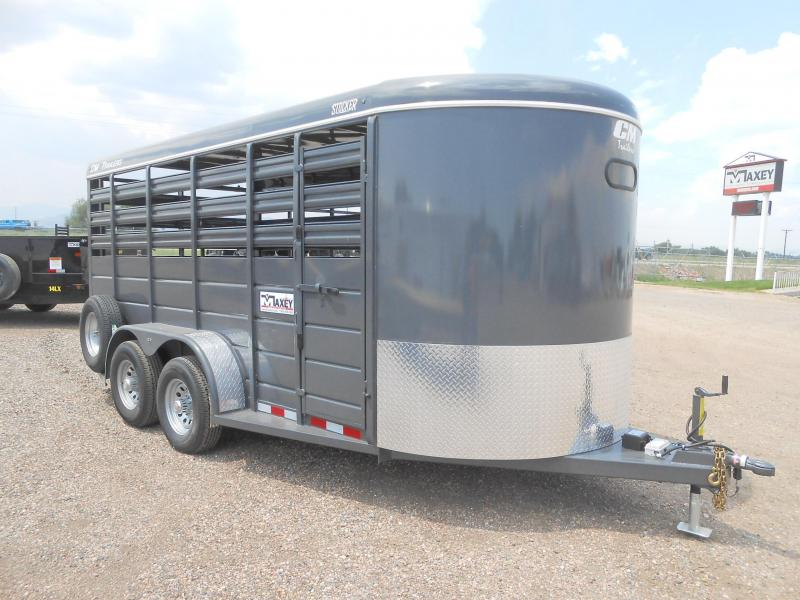 2020 CM 16FT STOCKER Livestock Trailer