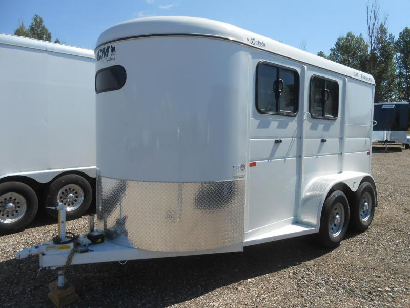 2020 CM DAKOTA 2 Horse Trailer