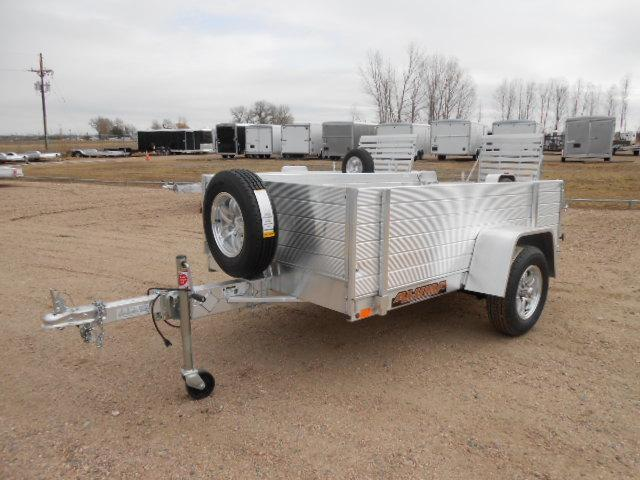 2020 Aluma 548S-BT Aluminum Solid Side Utility Trailer