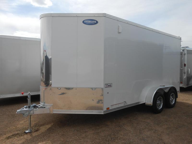 2020 Everlite Enclosed Trailer AEWL7X14TE2-RD All Aluminum