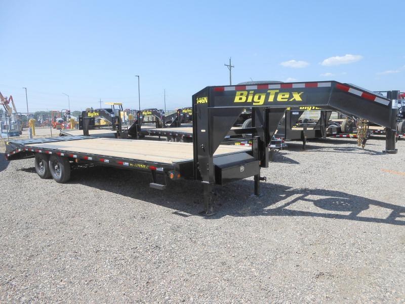 2020 Big Tex Trailers 14GN-20+5MR Gooseneck Flatbed Trailer