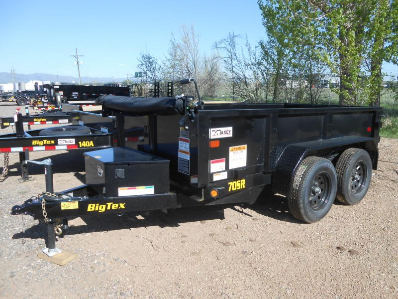 2020 Big Tex Trailers 70SR-10-5WDD Dump Trailer