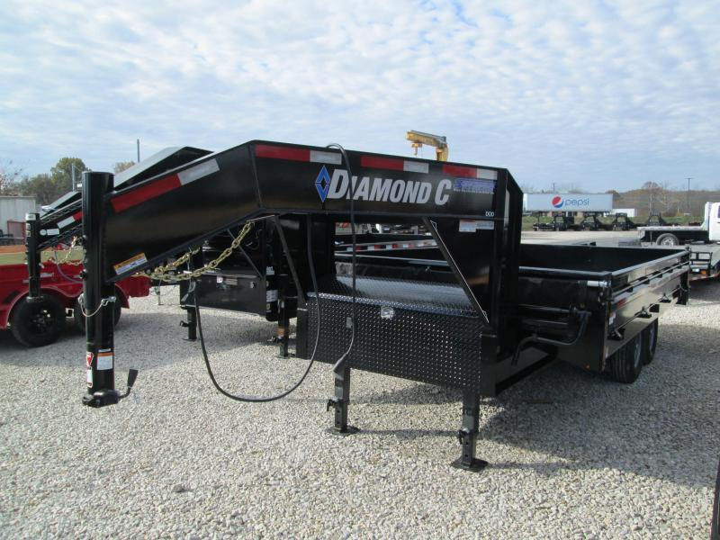 2020 Diamond C 16x96 14K Deck Over Dump Gooseneck. 21108