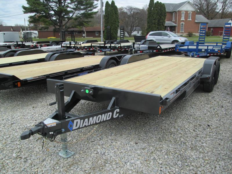 2020 18+2 7K Diamond C Utility Trailer. 21245