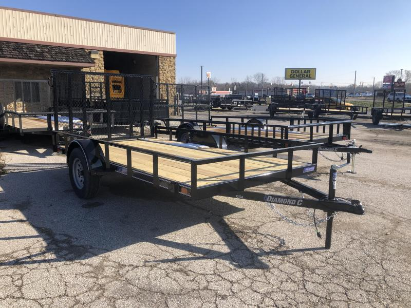 2020 12x77 Diamond C Utility Trailer. 21495