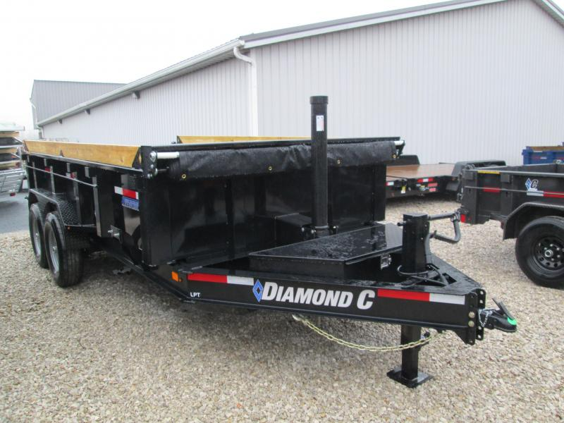 2020 14x82 14.9K Diamond C LPT Dump Trailer. 23193