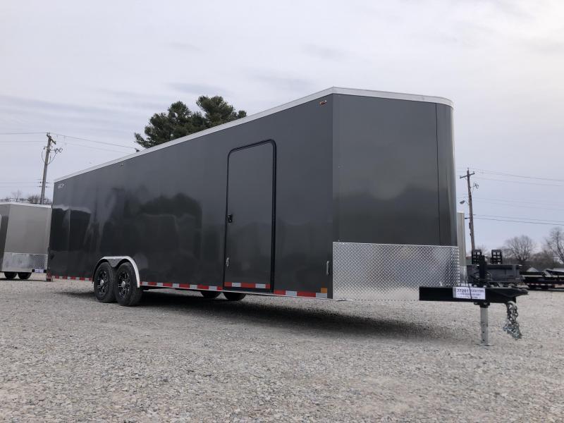 2020 8.5x28+V-Nose 12K Legend Cyclone Enclosed Trailer. 17951