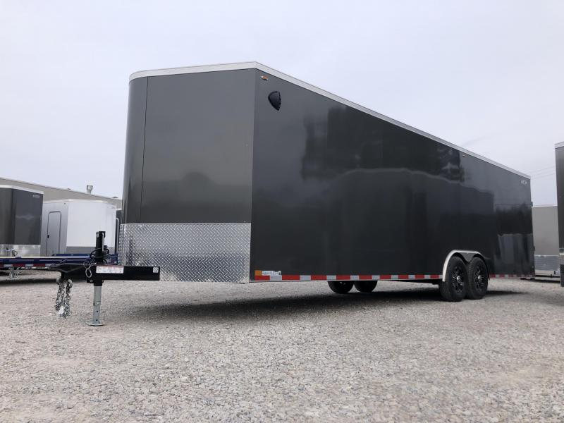 2020 8.5x28+V-Nose 12K Legend Cyclone Enclosed Trailer. 17951
