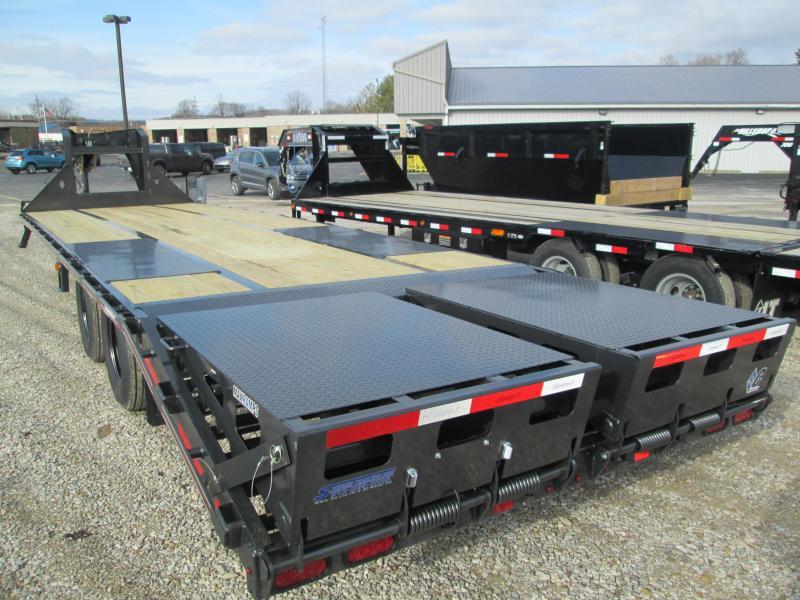 """2020 FMAX MR210 25'+5'x102"""" 25K Diamond C Engineered Beam Equipment Trailer. 23340"""
